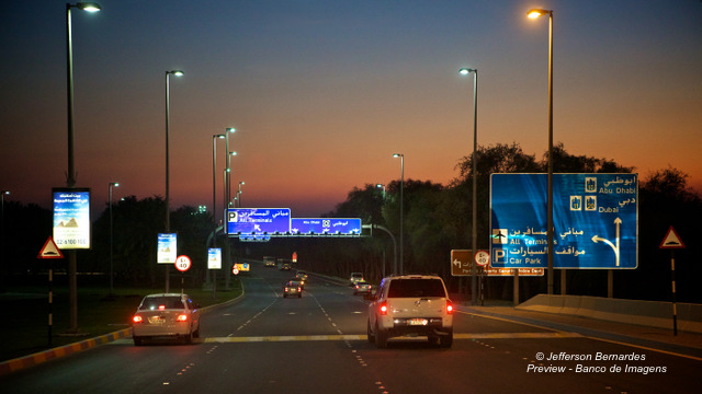 Abu Dhabi High Way