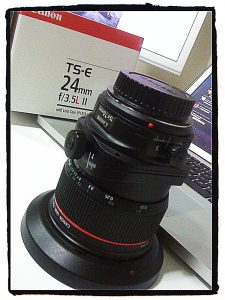 Canon TS-E 24mm f/3.5 L II Tilt-Shift