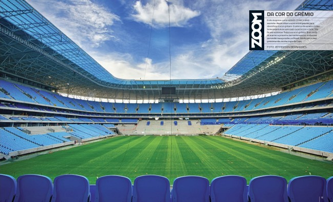 Arena do Grêmio na Revista ESPN