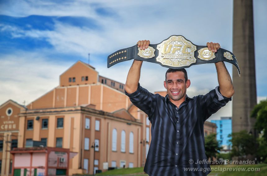 Fabricio Werdum na Usina do Gasômetro