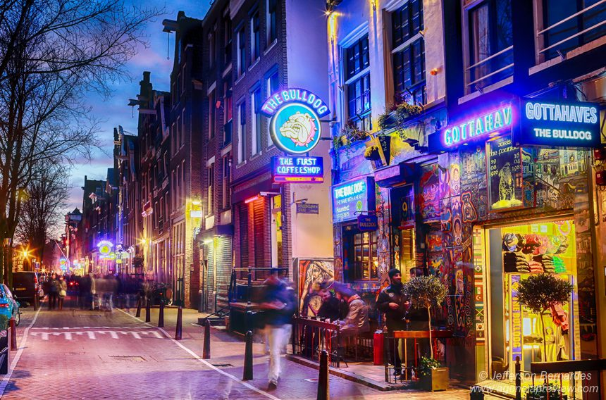Coffee Shop de Amsterdã