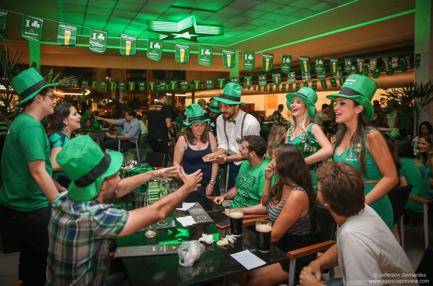 Saint Patrick's Day no Viva Open Mall